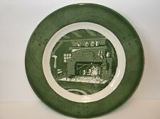 """Vintage Colonial Homestead Dish by """"Royal""""/ 1950"""