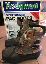 Men's HODGMAN Extreme Cold Weather Waterproof Boots Thinsulate Felt Foam Size 9
