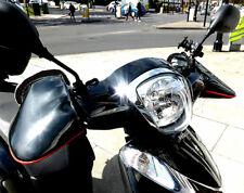 Waterproof Warm Motorcycle Handlebar Mitts Hand Motorbike Muffs Gloves Cover UK