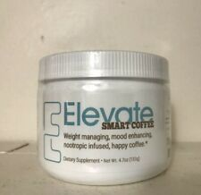 Elevate Smart Coffee by Elevacity -30 Serving Tub 4.7 oz -Authentic. Ships Daily