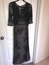 "Vintage B'zar Embellished Gown ""titanic Rose Dress"" Size 10 Circa 1980's"