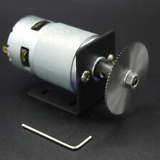 24V DC Motor With 50mm Saw Blade DIY Spares For Mini Lathe Table Saw