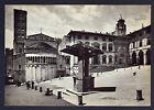 AREZZO CARTOLINA PIAZZA GRANDE FG OPACA VG 1956 - ED. C. A.