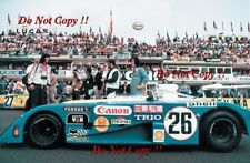 Ikuzawa & Fushida & Dal Bo Sigma MC73 Le Mans 1973 Photograph