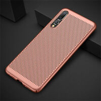 Hollow Heat Dissipation Slim Hard Case Cover For Huawei P20 P30 Lite Pro Mate 20