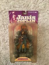 McFarlane Toys - Janis Joplin - Super Stage Action Figure with Microphone NIB