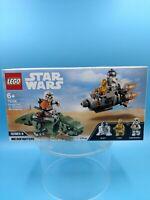 neuf jouet lego star wars 75228 escape pod vs dewback microfighters
