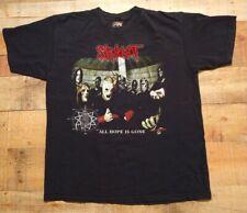 Vintage Slipknot All Hope Is Gone Band T-shirt Size Large By Rock & Deth