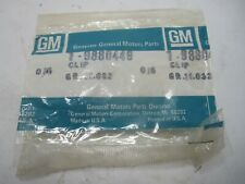 73-79 GM H-Body X-Body Swing Out Quarter Window Reveal Moulding Clip NOS 9880449