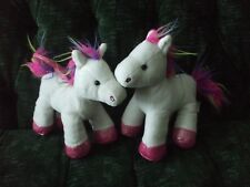"""2- 8"""" Pegasus made by Hug Fun Int. Initial E on 1 tag, J on other tag"""