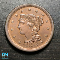 1853 Braided Hair Large Cent --  MAKE US AN OFFER!  #G8846
