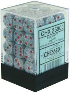 Chessex 12mm d6 Dice Block: Air