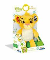 Disney Lion King Simba Toy, Activity Plush Baby Toy for 6 Months +