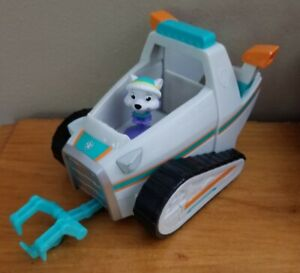 Paw Patrol Everest Snowmobile Only Mini Truck Vehicle Toy (Spin Master)
