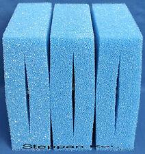 3  x  Blau  Filterschwamm passend für Oase Biotec 5+10+30  Koifilter