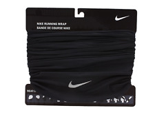 Nike Running Wrap Neck Warmer Black Soccer OSFM Face Mask Beanie AC3602-001