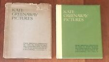Kate Greenaway Pictures 1921 First Edition In Scarce Dust Jacket
