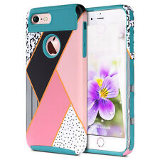 Protective Hybrid Shockproof Hard Case Cover For Apple iPhone 6 Plus &