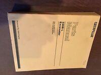 CAT CATERPILLAR 330 N 330B  L EXCAVATOR PARTS CATALOG MANUAL BOOK  6DR1-UP