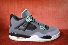 1696cb2b CLEAN Air Jordan IV 4 Retro Green Glow US Size 8 308497-033 Green Grey
