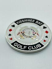 Kissimmee Bay Country Club FL Casino Metal Poker Chip Golf Ball Marker Coin Mint