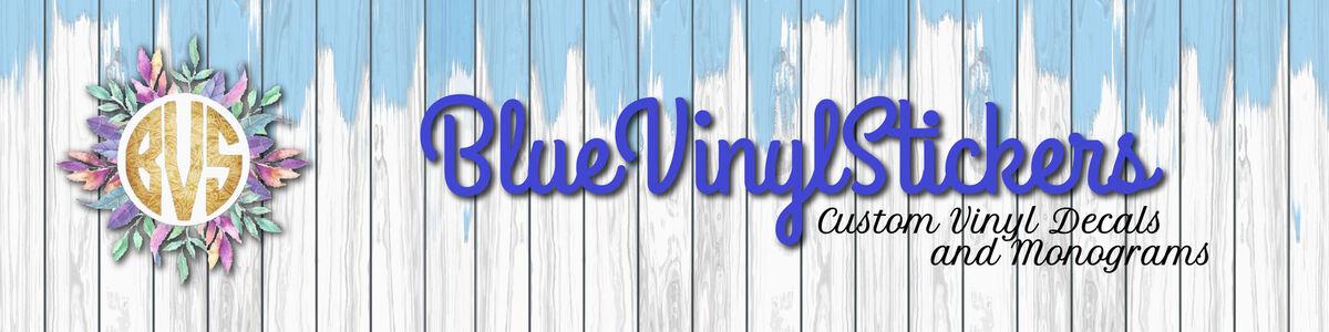 bluevinylstickers