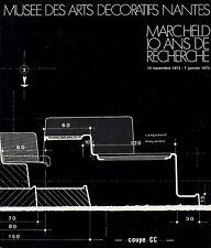 MARC HELD 10 ANS DE RECHERCHE MUSÉE DES ARTS DECRORATIFS NANTES 1973/1974 [RARE]