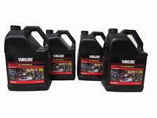 Yamalube 2S 2-Stroke Semi-Synthetic Snowmobile Engine Oil OEM Yamaha 4 Gallons