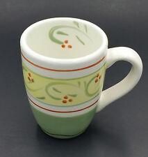 Pfaltzgraff Italian Vine Coffee Mug Handpainted Berries Green Yellow