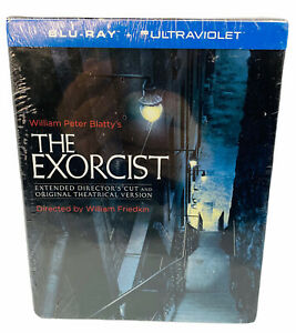 The Exorcist 40th Anniversary Original and Extended + Book  Blu-Ray New Sealed
