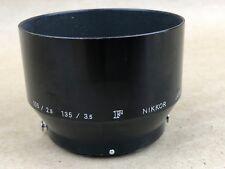 Nikon Lens Hood / Shade For 105mm f/2.5 - 135/3.5 NIKKOR Japan Lens