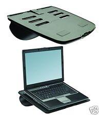 Fellowes GoRiser Portable Laptop Riser Notebook Stand 80304 Black V1P