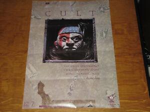 THE CULT - SPIRITWALKER - ORIGINAL UK 1984 PROMO POSTER