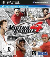 Sony PS3 Playstation 3 Spiel ***** Virtua Tennis 4 **********************NEU*NEW
