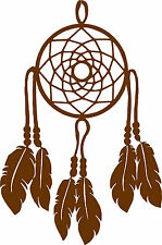 Dream Catcher No Beads Pick Your Color Vinyl Car Window Cutout Sticker, Computer