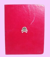Authentic DEOS iPad 2 case Pink Leather with Skull Msrp $125.00