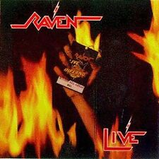Live at the Inferno by Raven (UK Band) (CD, Feb-1996, Megaforce)