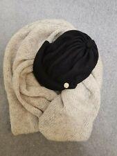 MIMCO hooded snood plus black wool hat