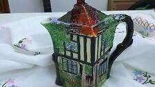 Vintage Royal Winton Ye Olde Inne Hand Painted Coffee Pot