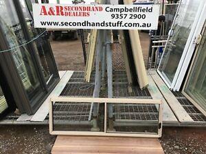 NEW Aluminium SLIDING WINDOWS 500h x 1500w (Approx Size) 5 COLOURS
