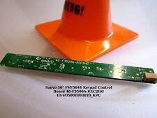 """Sanyo 50"""" FVF5044 Keypad Control Board 40-F3500A-KEC2HG"""