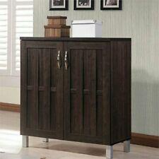 2 Door Buffet Cabinet Sideboard Storage Kitchen Dining Room Furniture Espresso