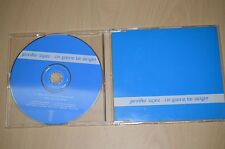 Jennifer Lopez ‎– I'm Gonna Be Alright. SAMPCS 115961 CD-SINGLE PROMO