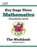 KS3 Maths Workbook (with Answers) - Foundation by CGP Books (Paperback book, 199