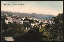 cartolina SAN REMO panorama dal berigo