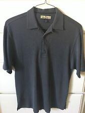 Tommy Bahama Silk & Cotton Grey Polo Shirt Size L