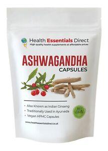 Ashwagandha Capsules, Strong 1800mg Daily, Vegan, Stress, Sleep