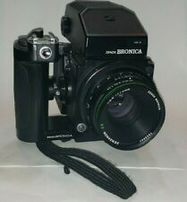 【Supurb】 Zenza Bronica ETRS Camera AE II Finder  w/ E II 75mm f/2.8 From Japan