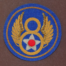 Exact Copy WWII 8th USAAF Hand Embroidered Dress Uniform Shoulder Patch