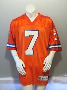 Denver Broncos Jersey (Retro) - John Elway Throback Classic by Reebok - Men's L
